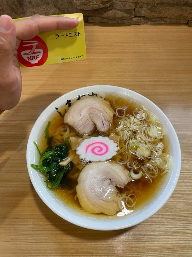 「手打ちラーメン」680円